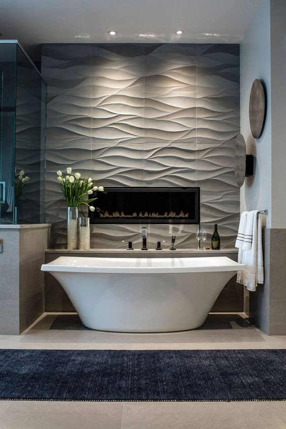 CREATE MODERN LIVING AREAS BY TEXTURED WALLS – Cosmicdecor