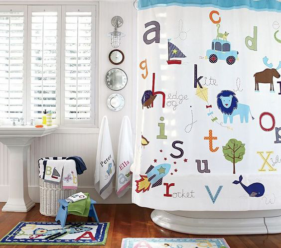 GREAT BATHROOM DECORATION IDEAS FOR CHILDREN