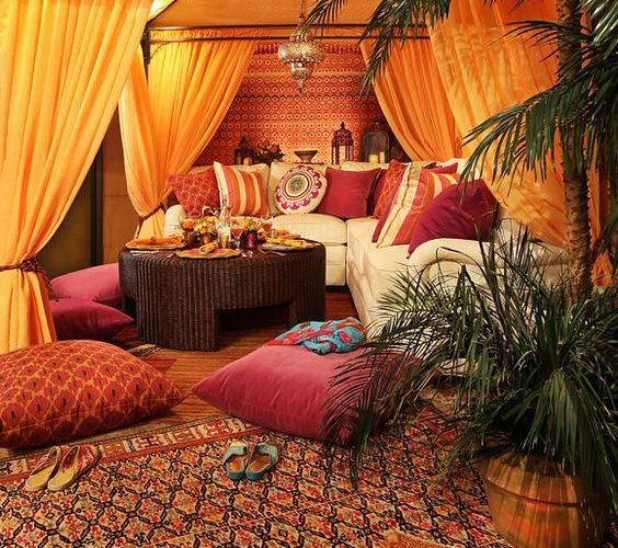 MOROCCAN STYLE DECORATION IDEAS