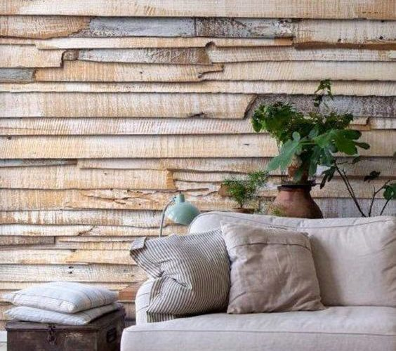 CREATE MODERN LIVING AREAS BY TEXTURED WALLS