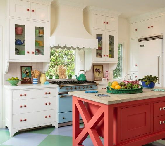 RENEW THE KITCHEN WITH LIVE COLORS