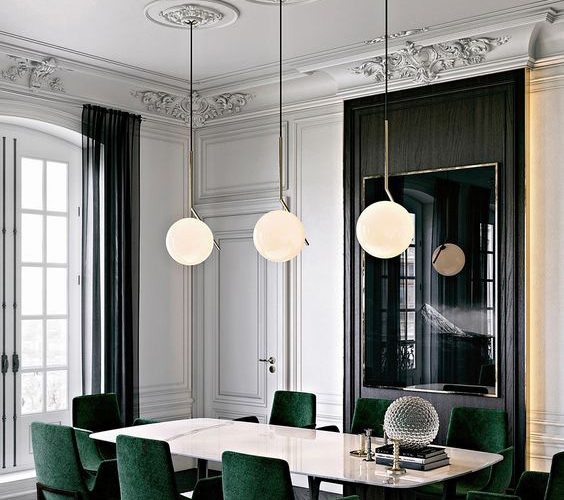 WAYS TO ADD COLOR TO MODERN DINING ROOM
