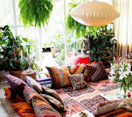 BOHEMIAN DECORATION WHAT AND HOW TO APPLY?