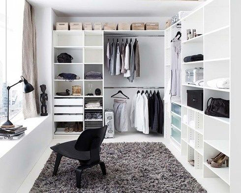 DECORATION IDEAS FOR THE CLOTHING ROOM