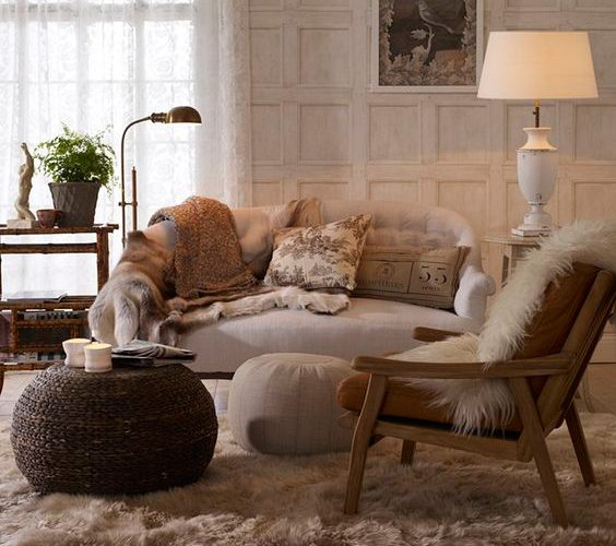 REFLECTION OF THE SCANDINAVE STYLE IN YOUR LIVING ROOM