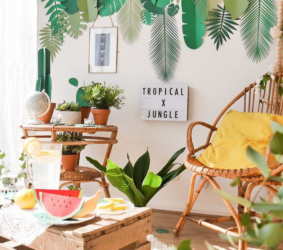 TREND ALARM IN DECORATION: TROPICAL PATTERNS