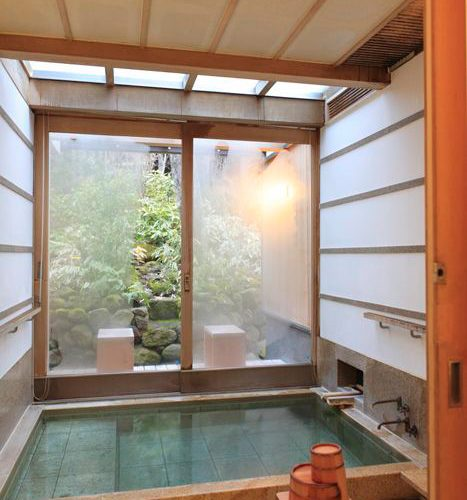 JAPANESE STYLE BATHROOM DECORATION