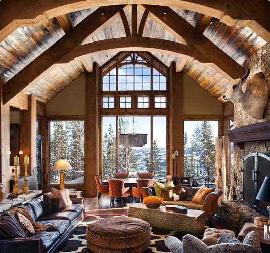 WINTER\'S FAVORITE DECORATION STYLE: CHALET – Cosmicdecor