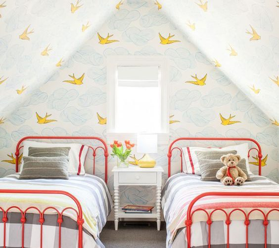 BEDROOM DECORATION FOR TWINS